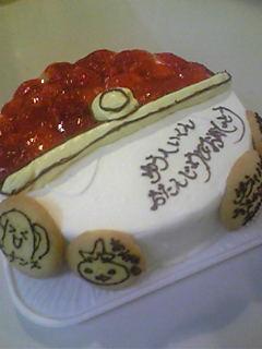 特注バースデーケーキ