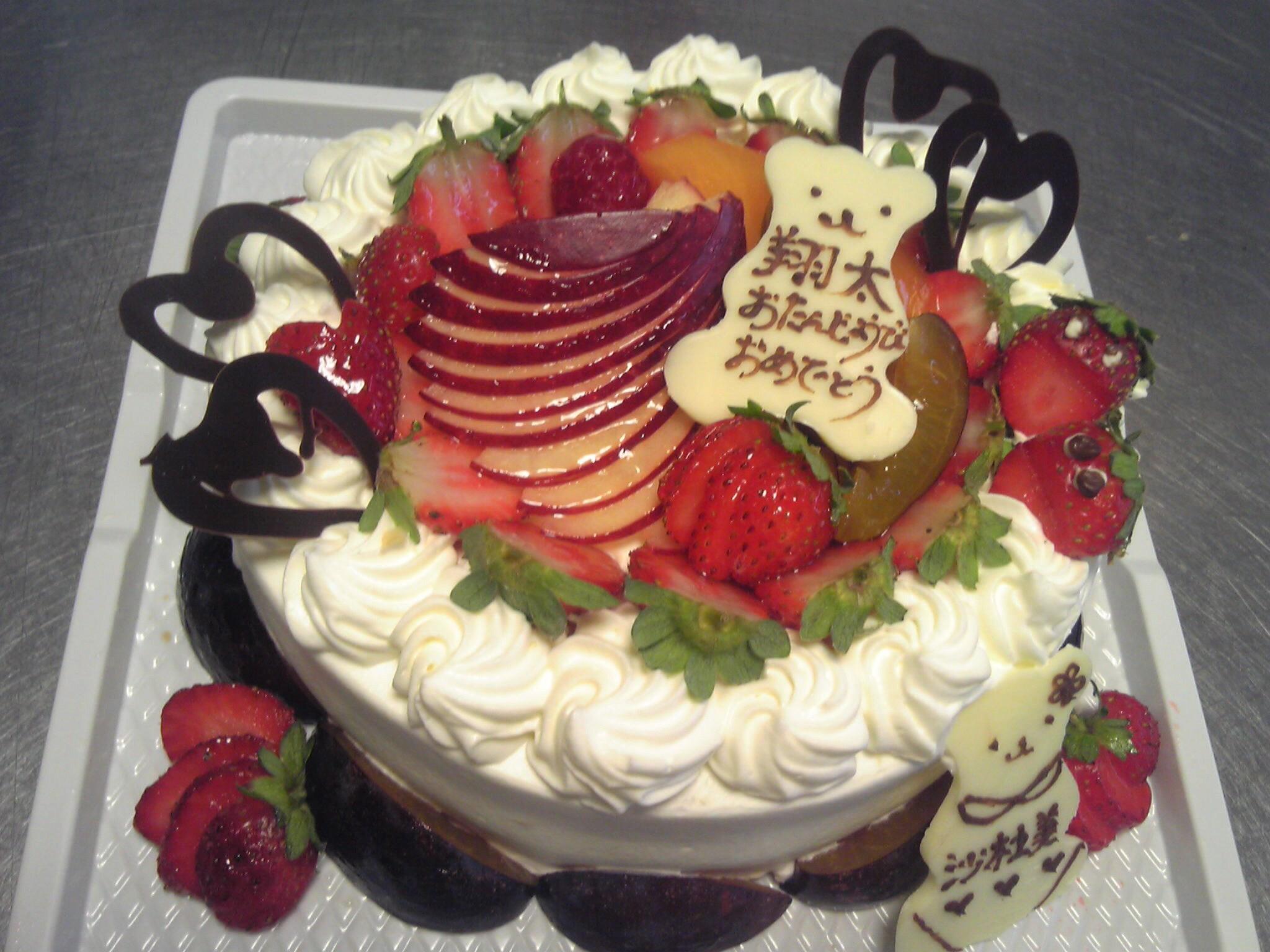 バースデーケーキいろいろ