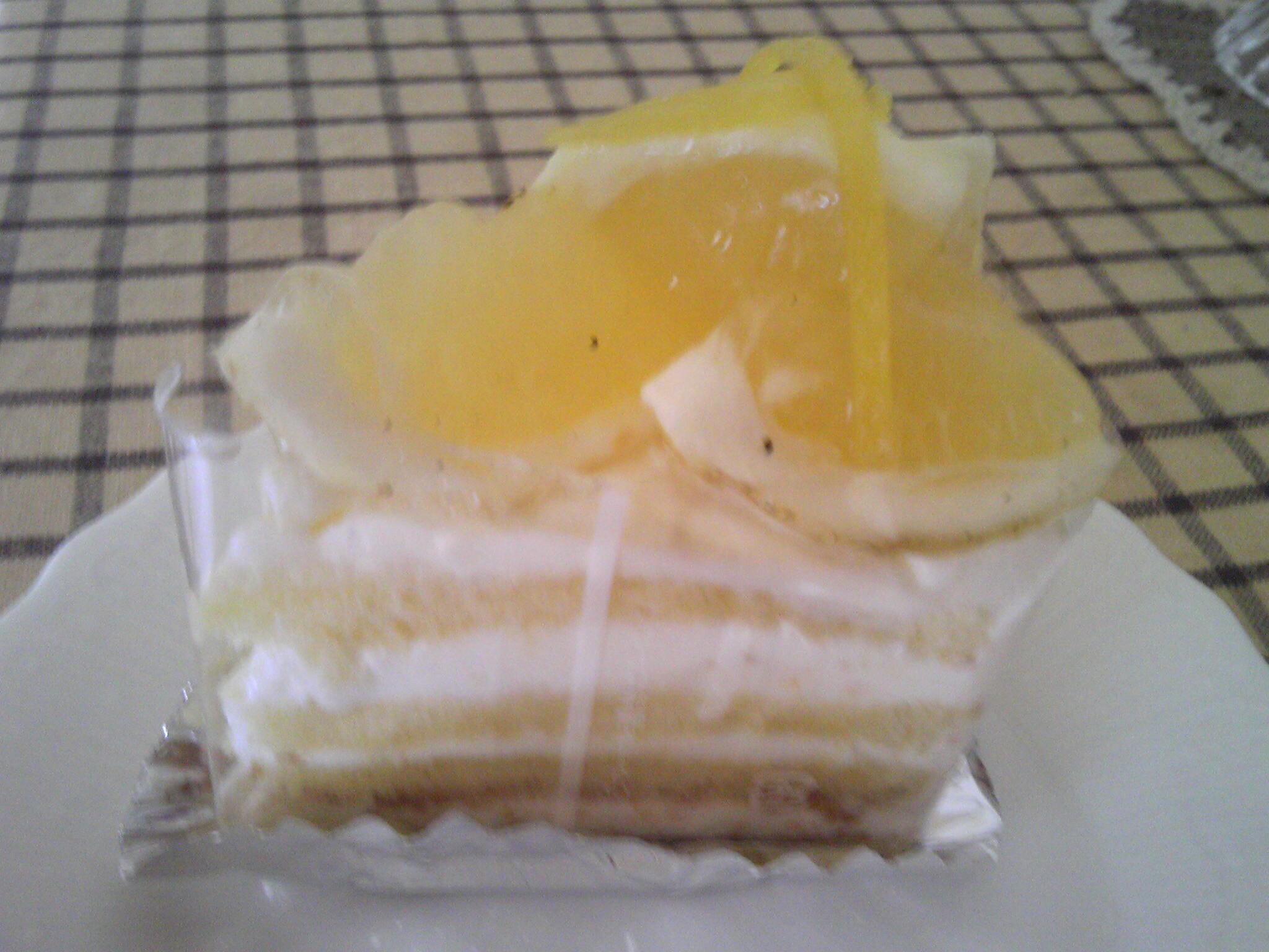 日向夏のショートケーキ
