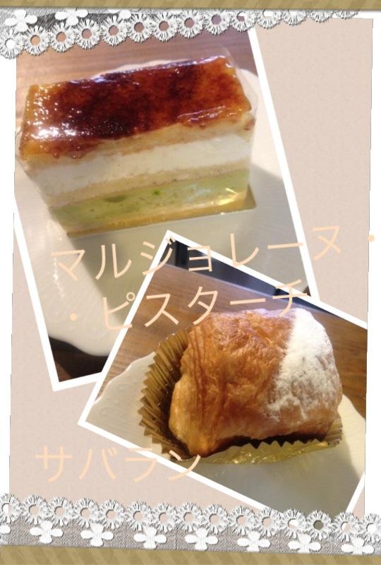新作ケーキの写真