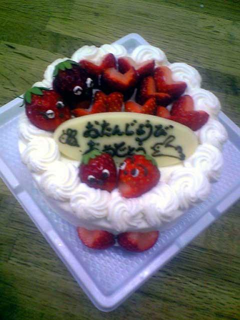 ミニバースデーケーキ